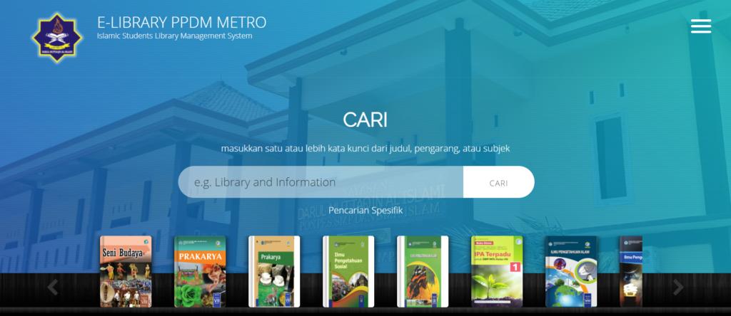 aplikasi perpustakaan digital ppdm